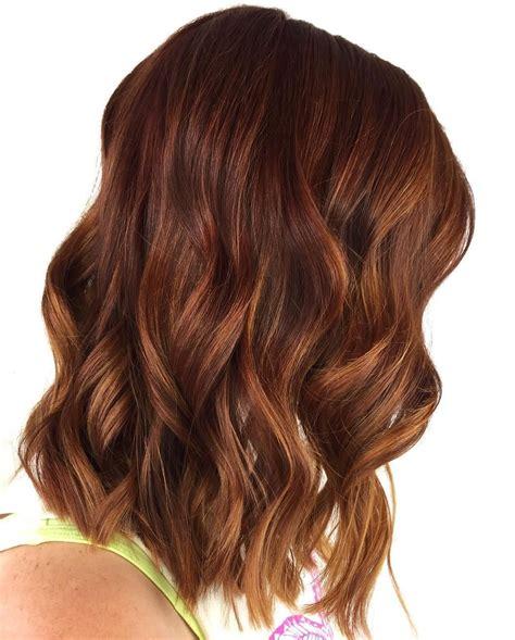 caramel hair color gray coverage auburn hair color with caramel highlights best hair