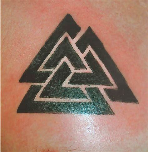 tribal triangle tattoo image tattoos