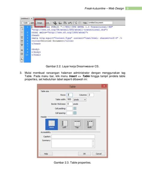 membuat web berita modul web design studi kasus website portal berita