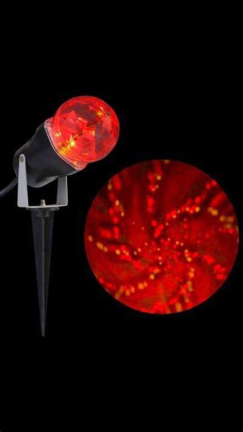 gemmy halloween projection lights gemmy led halloween light show time tunnel red yellow