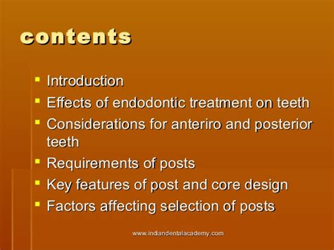 10 key factors affecting selection of a building site esthetic post systems certified fixed orthodontic courses