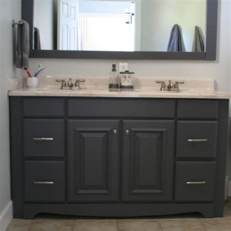 Bathroom Cabinet Paint Ideas by 1000 Ideas About Painting Bathroom Vanities On