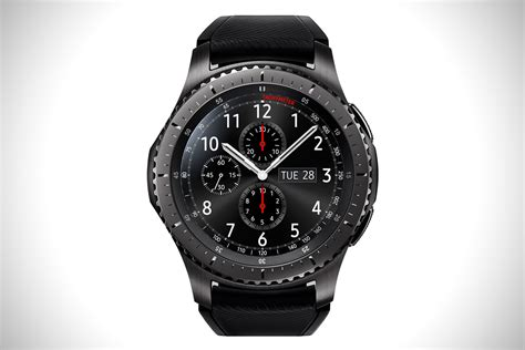 Smartwatch Gear S3 Samsung Gear S3 Smartwatch Hiconsumption