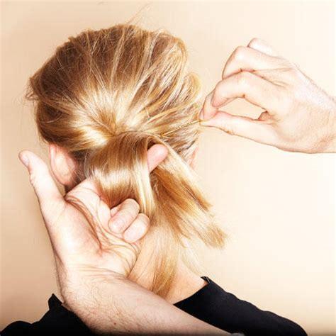 haare hochstecken haarstyling lange haare hochstecken kein problem