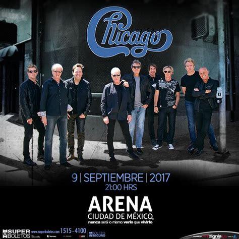 Mba Mexico Chicago 2017 chicago en la arena ciudad de m 233 xico conciertosmx