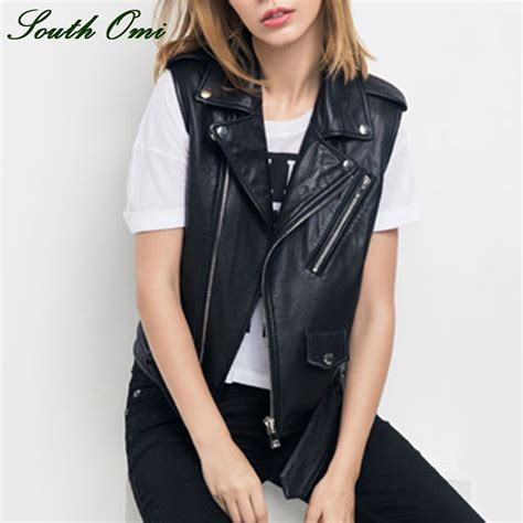 biker waistcoat online get cheap leather motorcycle vests women