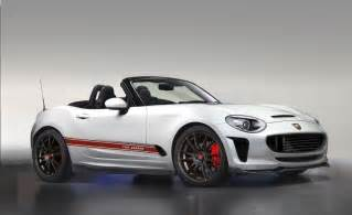 Abarth Spider Fiat Abarth 124 Spider Rendering Front Three Quarters Right