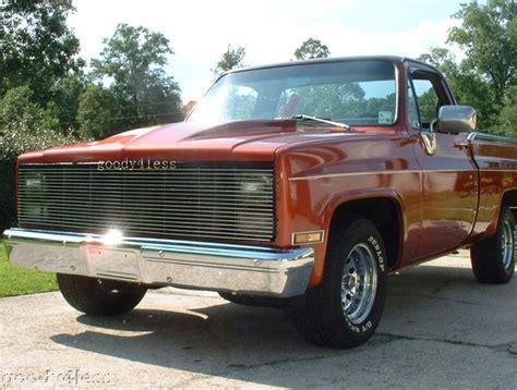 83 gmc truck 81 83 chevy gmc phantom billet grille 86 grill ebay