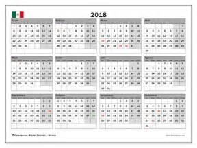 Calendario 2018 Mexico Feriados Calendarios Para Imprimir 2018 M 233 Xico