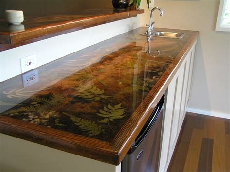 Epoxy Kitchen Countertops Best Epoxy Countertops Modern Kitchen