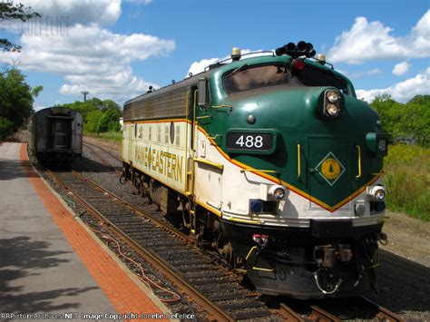 new depot maine eastern fl9 488 running around