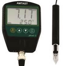 Alat Pengukur Ph Air Yang Akurat alat pengukur keasaman ph meter daging dan keju amt16m