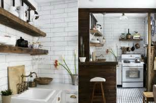 Black And White Check Kitchen Accessories - house tour mix dark wood and white for a crisp industrial vibe decorator s notebook