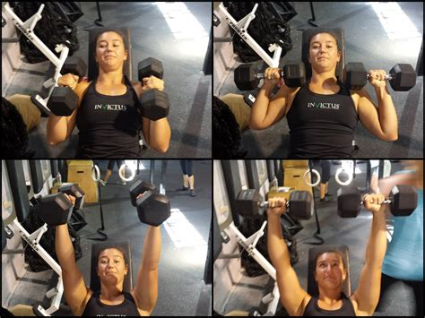 bench press for girls the dumbbell bench press invictus fitness