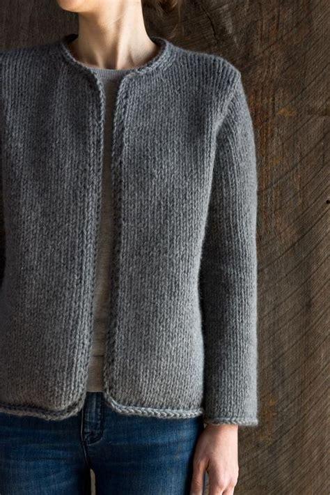 pattern maglia ai ferri la giacca di purl soho lavoro a maglia pinterest