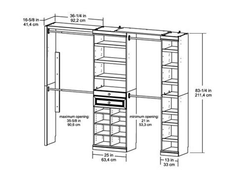 Closet Design Measurements by Chang E 3 Search And On