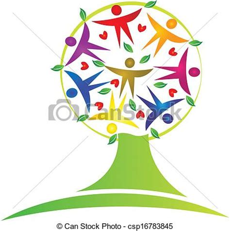 Eps Vector Of Tree Teamwork Logo Tree Teamwork Icon Vector Csp16783845 Search Clip Art Teamwork Tree Logo Vector Stock Vector Illustration Of Ecology Leafs 34023988
