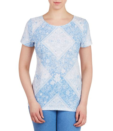 Fast Ola Basic Knitted Crew Neck Top allison daley wide crew neck blue patch print knit top