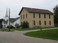 Byron Center Post Office by Byron Area Historic Museum