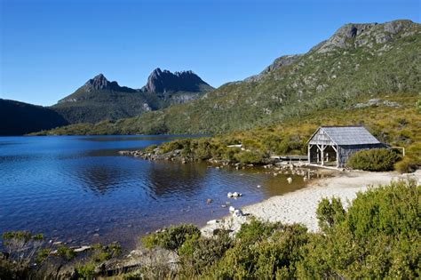 cradle mountain lake st clair national park tourism