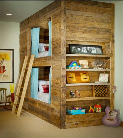 kinderzimmer mit hochbett coole platzsparende wohnideen