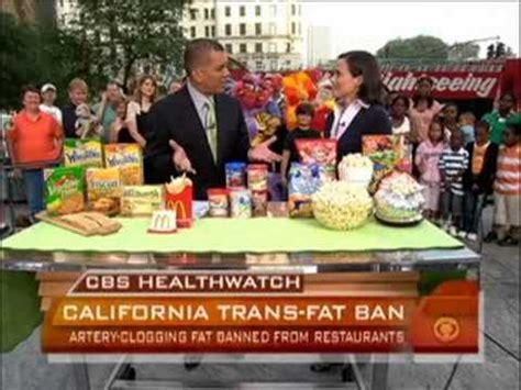 California Bans Transfat by California Bans Trans