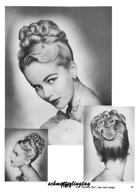 how to recreate 1950s hairstyles 1950s atomic hairstyle book create 50s long hairstyles ebay