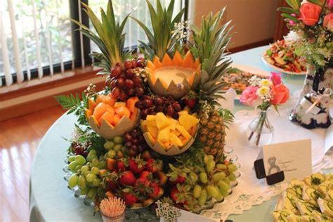 My Baby Set Fresh Fruity cascading fruit centerpiece recipe hungryforever food