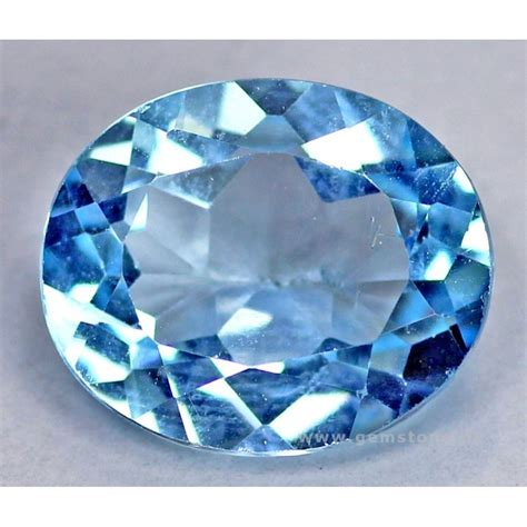 5 ct blue topaz gemstone 0034