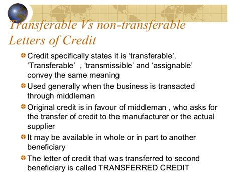 Second Advising Bank Letter Of Credit Letter Of Credit