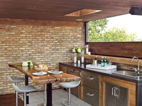 Bien Cuisine Exterieure Beton #1: cuisine-exterieur-pour-ete-avec-bar-moderne.jpeg