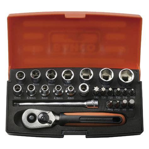 Set Kutubaru Mini 1 bahco 25 1 4 quot mini socket set sbsl25 discount trader