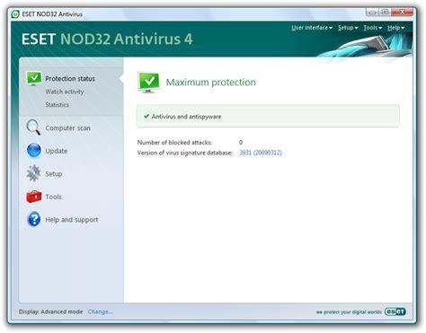 Antivirus Eset Nod32 eset nod32 antivirus 4 link softdunya786