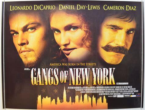 film gangster of new york gangs of new york original cinema movie poster from