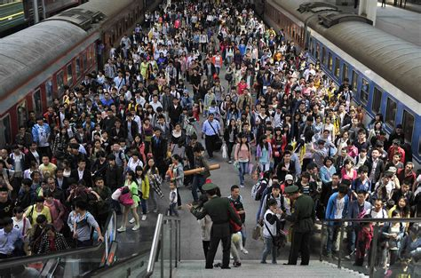hong kong new year crowded think hong kong is crowded labour day tourists flock to