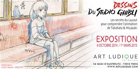layout d animation une exposition de dessins d animation japonaise blog