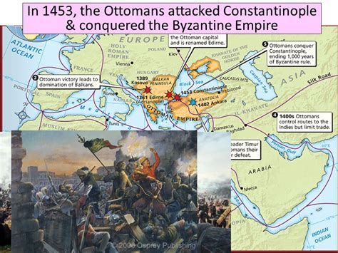 In 1453 The Ottomans Conquered Which Important Christian