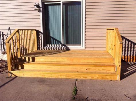 Patio Door Steps Hanover Patio Door Steps