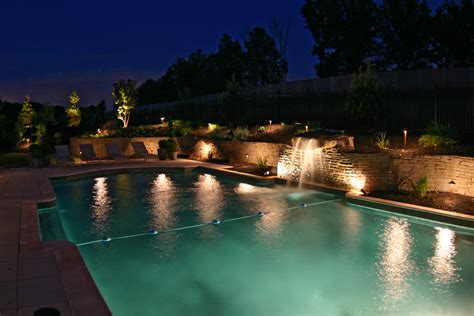 Pool Patio Lighting Garden And Pool Lighting Outdoor Lighting Perspectives