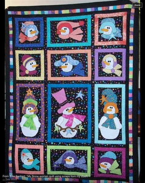 quilt pattern with different size blocks 51 best quilts winter images on pinterest snowman