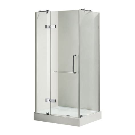 rona bathroom showers bayonna shower door rona