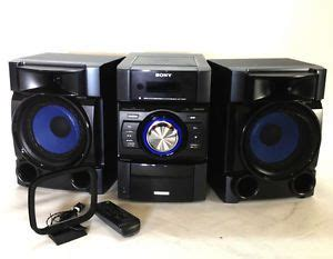 Mini Stereo Shelf System by Sony Mhc 2750 Mini Stereo Component Shelf System On Popscreen