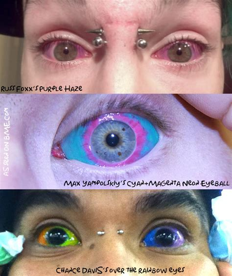 eye ball tattoos the eyeball faq has been updated bme
