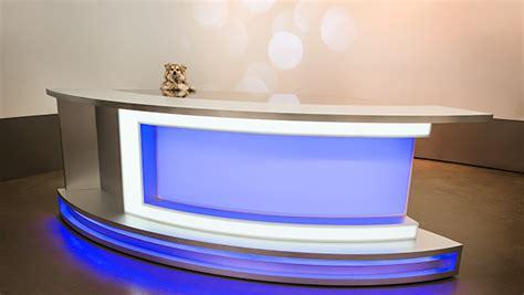 Used Studio Desk For Sale by Pomehuahua Anchor News Desk On Behance
