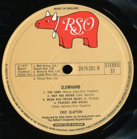 eric clapton slowhand original uk 24 96 vinyl rip new - Eric Clapton Slowhand Original Vinyl