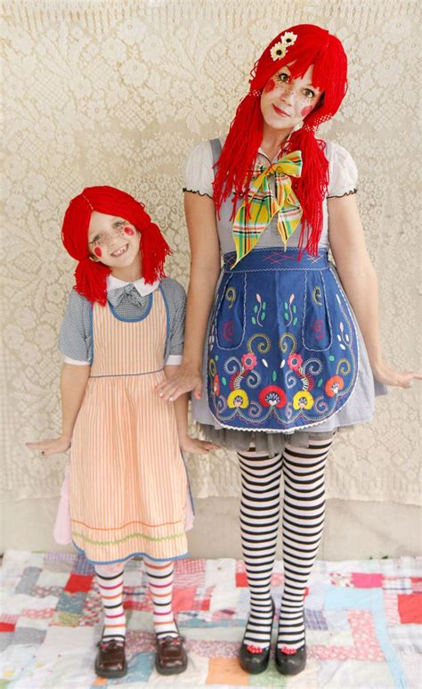 Costumes Handmade - handamde rag doll costume really awesome costumes