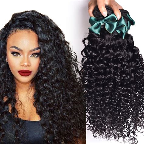 brazillian wave curls hairstyles brazillian virgin hair water wave 4 pcs lot brazilian