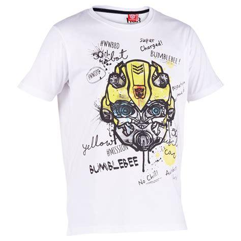 T Shirt Kaos Print Umakuka Idr 20 000 transformers bumblebee charge t shirt white