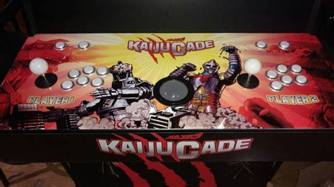kaijucade home arcade machine parts express project gallery