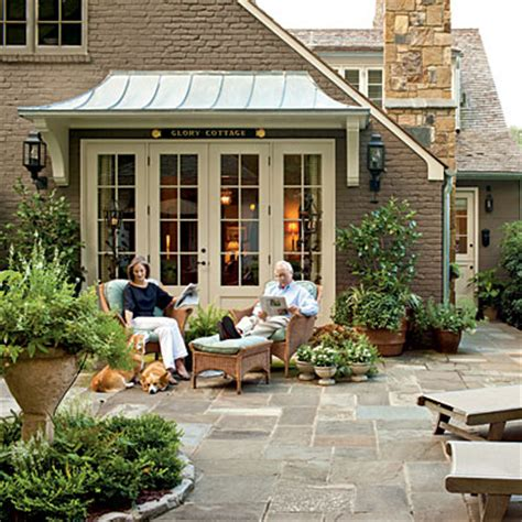 cottage patios mix and chic home tour a cape cod style cottage in atlanta